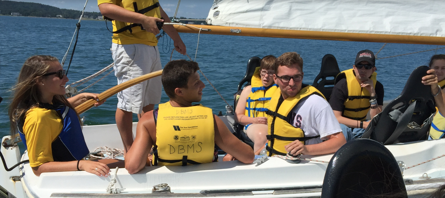 Sailing at Life Experience School